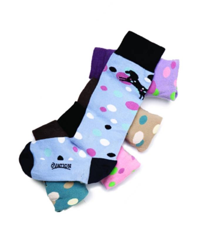 Ovation Kids Bubbles Crew Sock