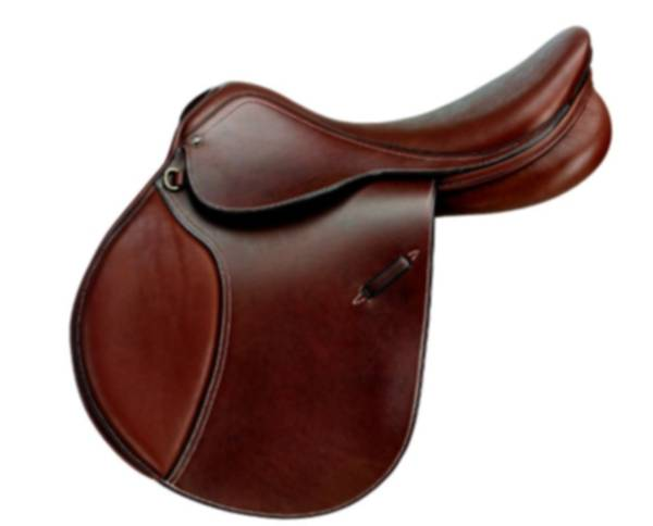 Ovation Competition Show Jump Saddle Smooth Leather with X-Change