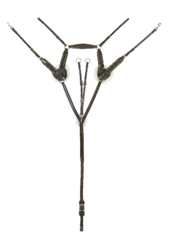 Ovation 5-point Padded Breastplate