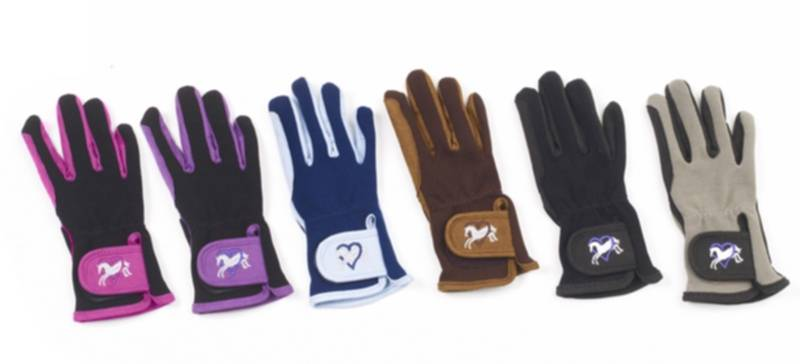 Ovation Kids Heart & Horse Gloves