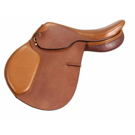 EquiRoyal Regency Wide Close Contact Saddle Padded Flap