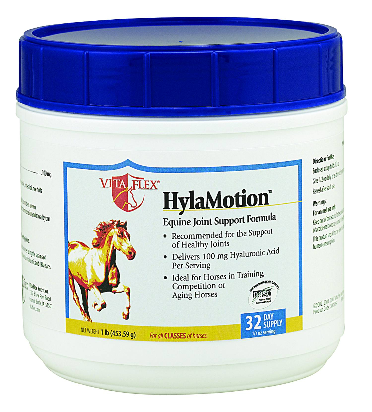 Vita Flex HyLamotion Horse Supplement