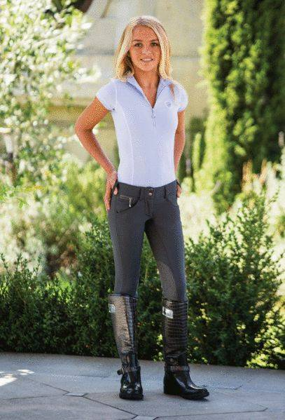 Goode Rider Girls Pro Breeches