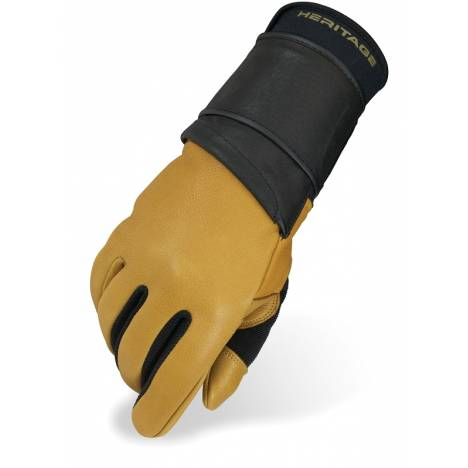 Heritage Pro 8.0 Bull Riding Glove (Left Hand Only)