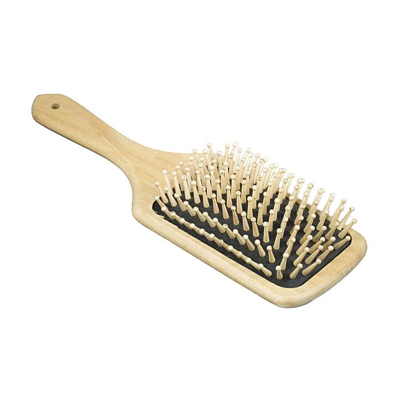 HorZe Wooden Mane And Tail Brush