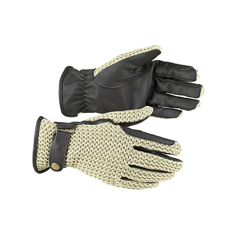 HorZe Crochet Back Riding Sport Gloves