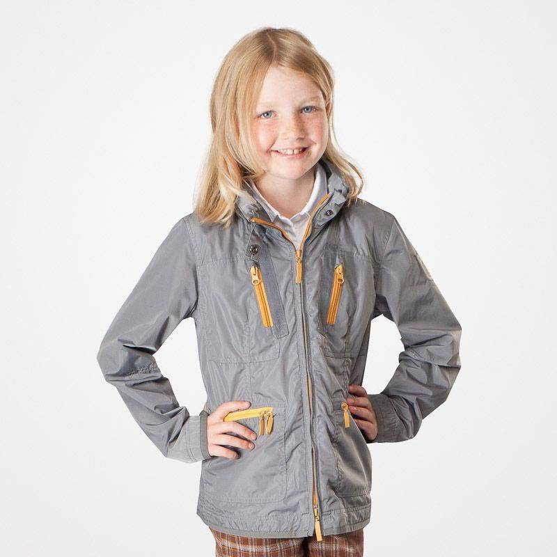 HorZe Ada Kids Jacket With Contrast Details