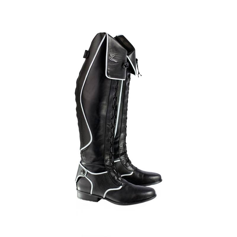 Horze Tall Field Boots With Laces
