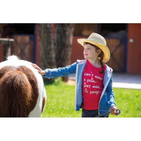Horseware Novelty Tee - Girls, Rose