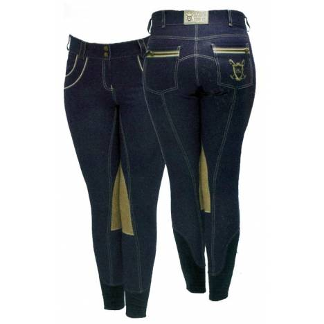 Horseware Polo Ladies' Nina Denim Knee Patch Breeches