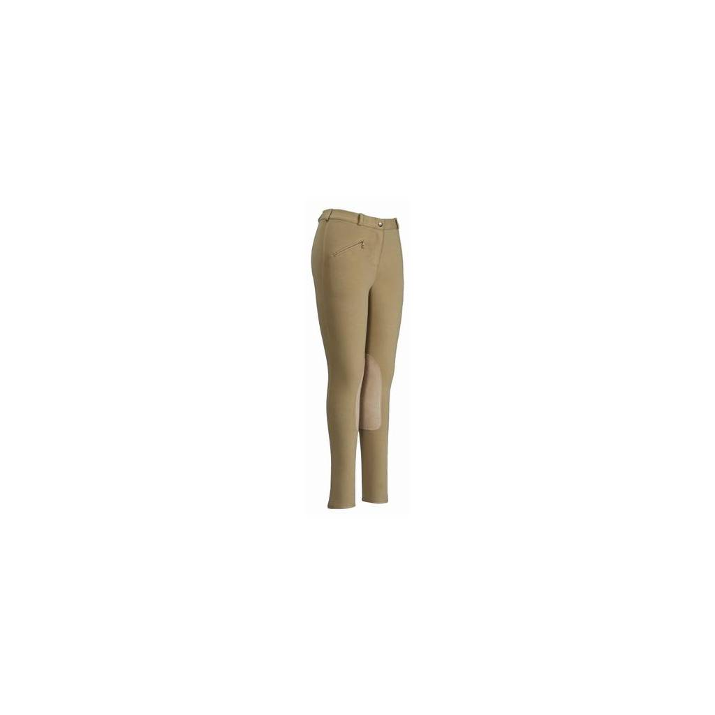 TuffRider Ladies Cotton Knee Patch Breech