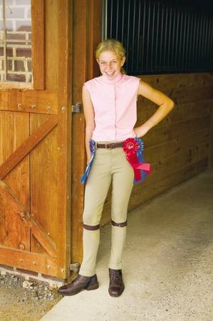 TuffRider Kids Cotton Pull On Jodhpurs