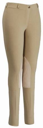 TuffRider Cotton Lowrise Pull On Ladies Breech