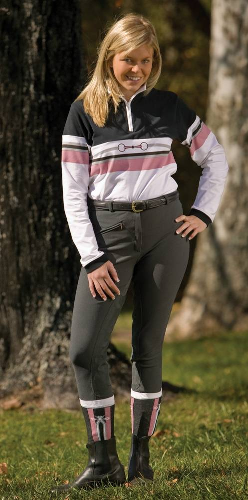 TuffRider Ladies Ribb Full Seat Breech
