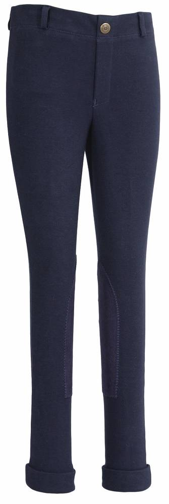 TuffRider Kids Cotton Embroidered Pull On Jodhpurs