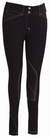 Equine Couture Kids Sportif Natasha Breeches With Cs2 Bottom