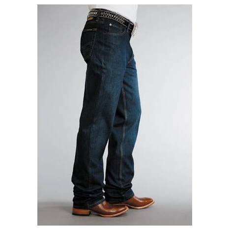Stetson Mens 1520 Fit Jeans - Dark Rinse