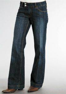 Stetson Ladies Denim City Trouser