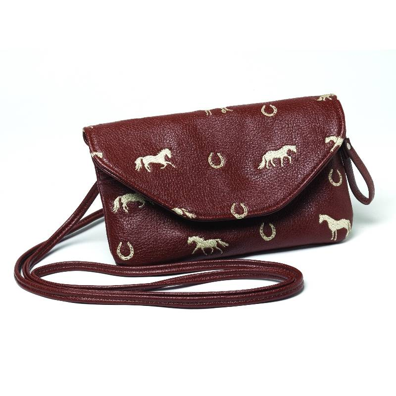 Ladies Horse and Shoe String Purse