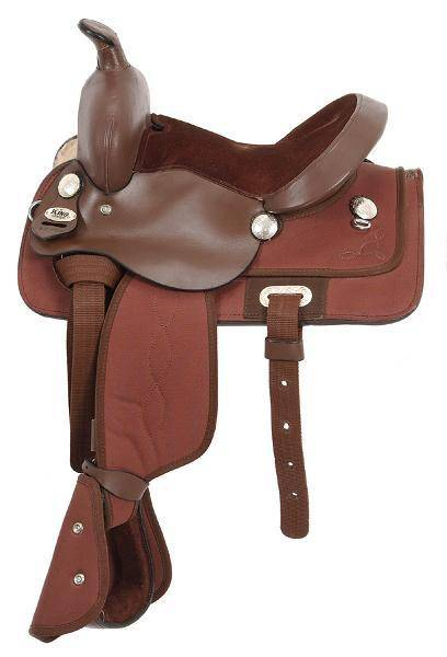King Series Krypton Synthetic Pony Saddle