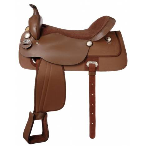 King Series Krypton Synthetic All Around Saddle