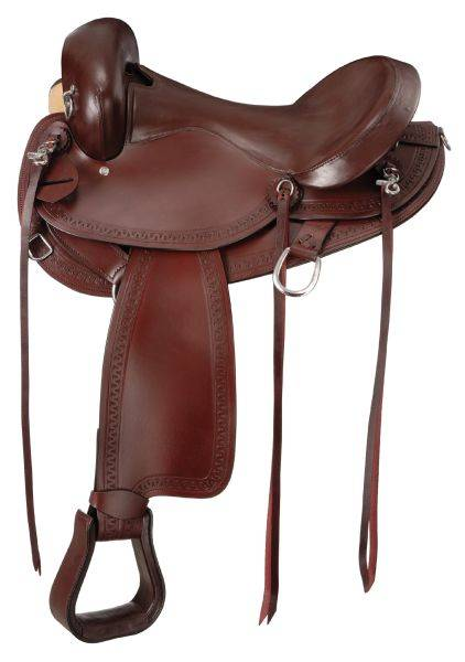 Hornless Comfort Gaited Trail Saddle