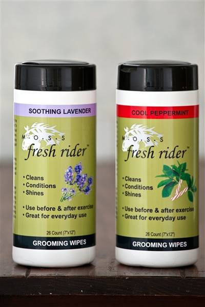 MOSS Naturals Fresh Rider Grooming Wipes