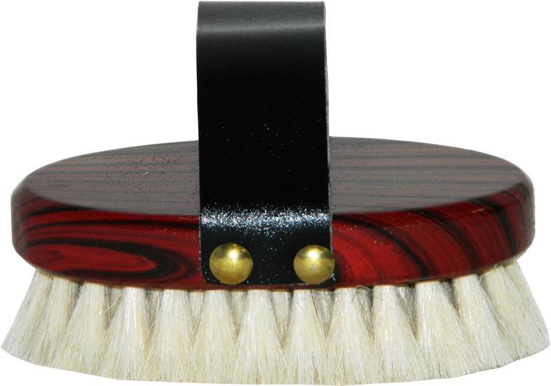 Wooden Goat Hair Finishing Brush
