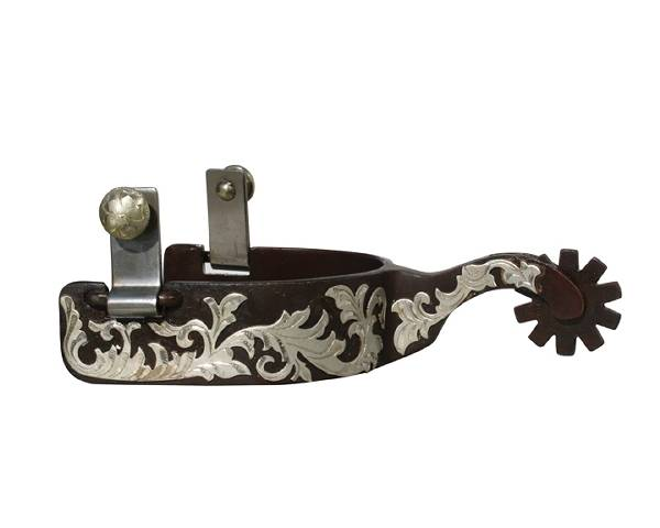 Professionals Choice Floral Medium Shank Spurs