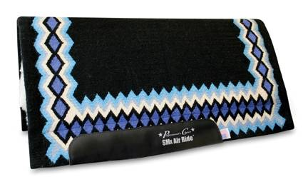 Professionals Choice SMX 3/4 Western Show Pad: Shilloh Pattern