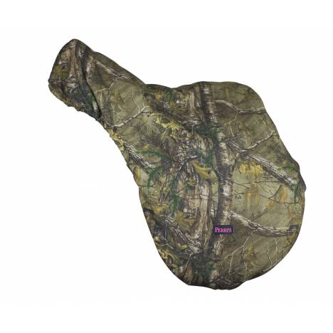 Real Tree Premium Saddle Cover Fleece Lined