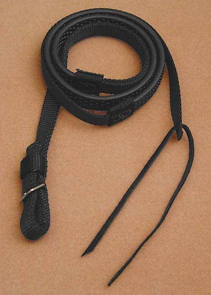 Dr. Robert Cook Bitless Bridle Rubber-Grip Nylon Reins