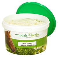 Wendals Herbs Salt Lick Pure Garlic