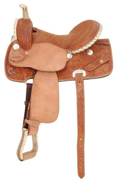 Royal King Flash Barrel Saddle