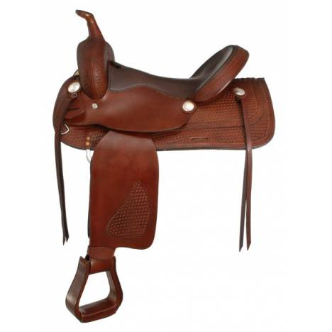 Royal King El Paso Trail Rider Saddle