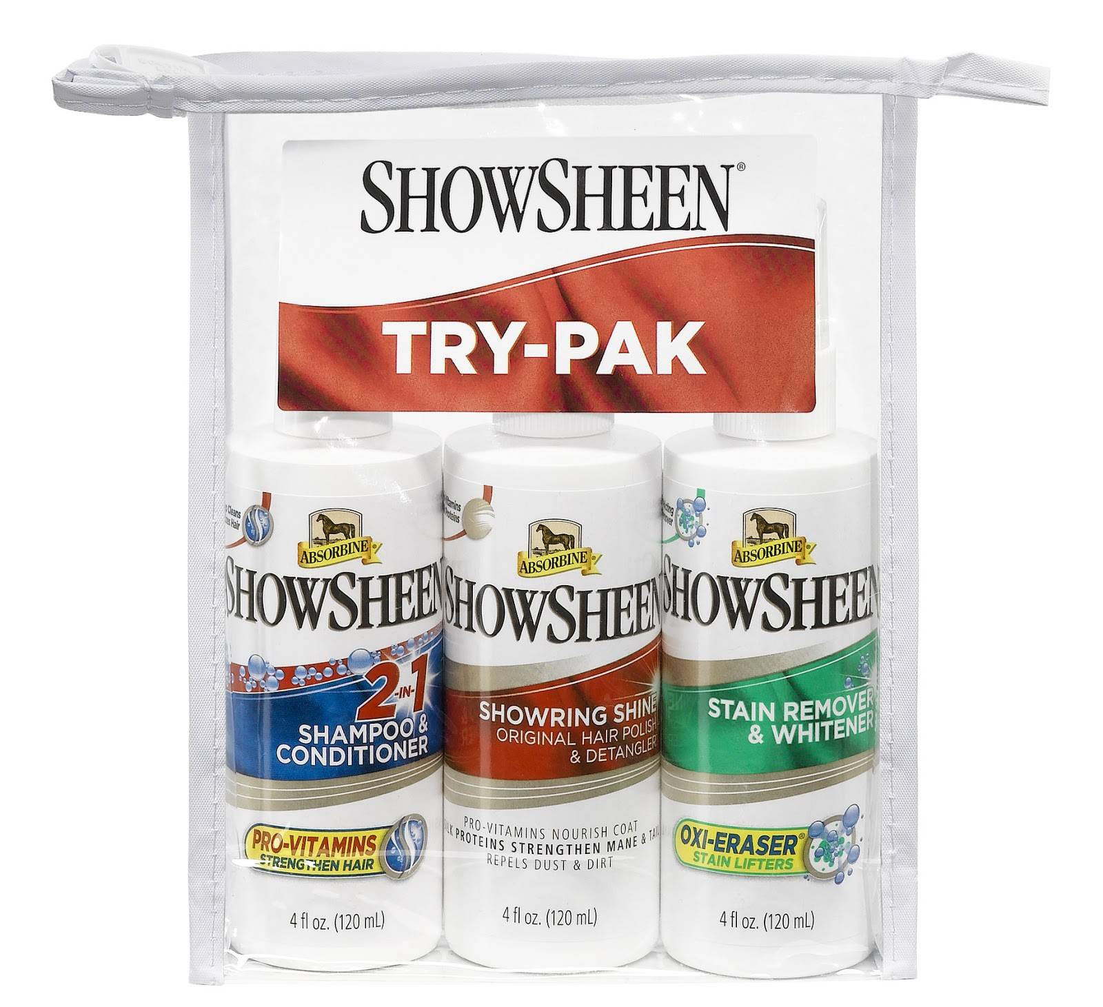 ShowSheen Try-Pak Sampler