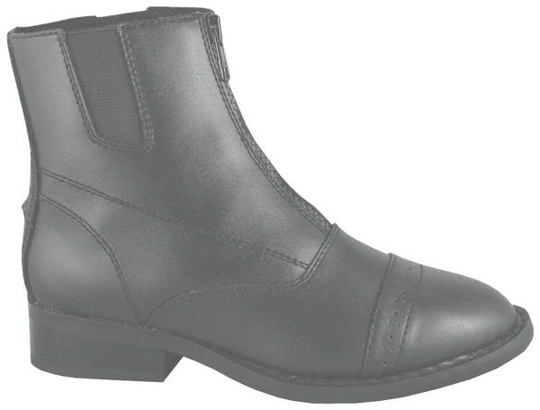 Smoky Mountain Youth Zipper Paddock Boot