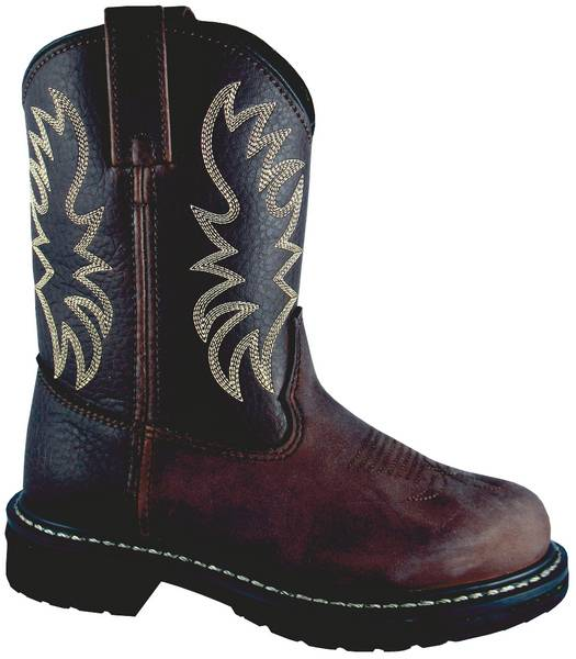 Smoky Mountain Kids Buffalo Leather Wellington Boot