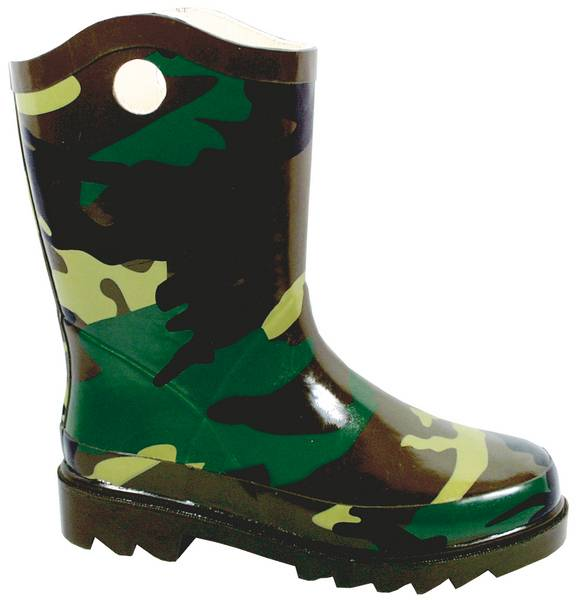 Smoky Mountain Kids Camouflage Rubber Boot