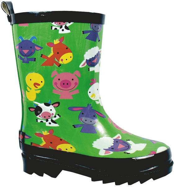 Smoky Mountain Kids Barnyard Rubber Boot