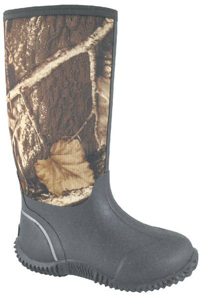 Smoky Mountain Kids Camo Amphibian 12'' Boot
