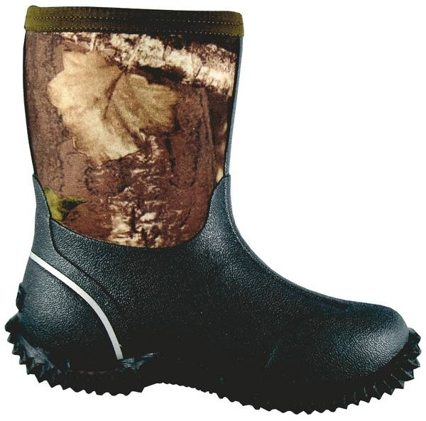 Smoky Mountain Youth Camo Amphibian 8'' Boot