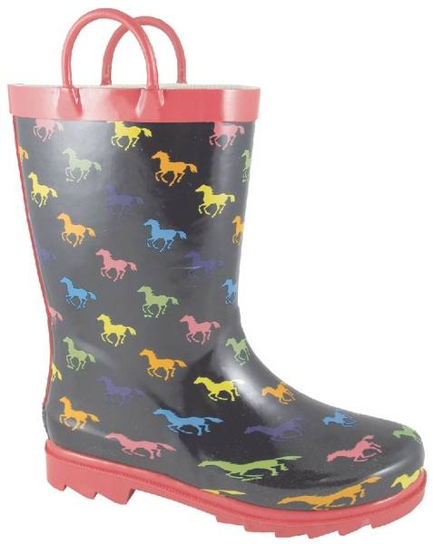Smoky Mountain Kids Ponies Rubber Boot