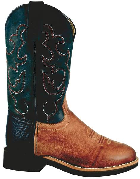 Smoky Mountain Kids Seminole Crepe Sole Boot