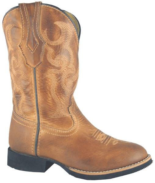 Smoky Mountain Youth Showdown Leather Western Boot