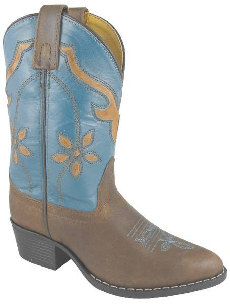Smoky Mountain Youth Cactus Flower Boot