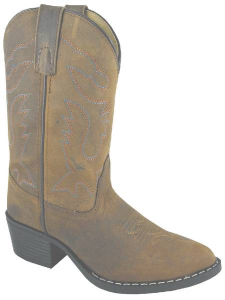 Smoky Mountain Kids Dakota J-Toe Western Boot