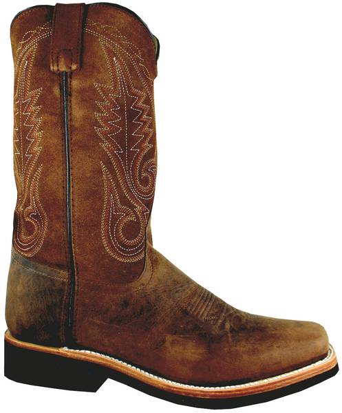 Smoky Mountain Men's Boonville Leather Western Boot