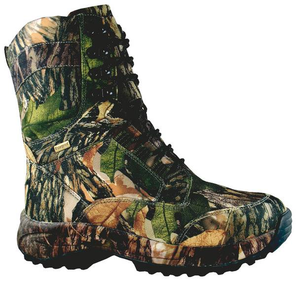Smoky Mountain Mens Camoflauge Waterproof Insulated Lace-Up Boot