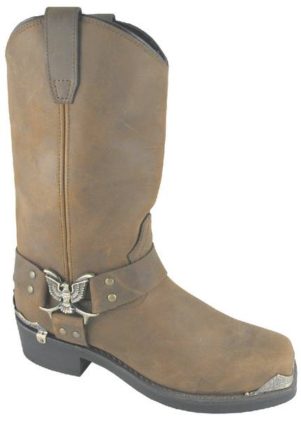 Smoky Mountain Men's Miami Eagle Biker Boot